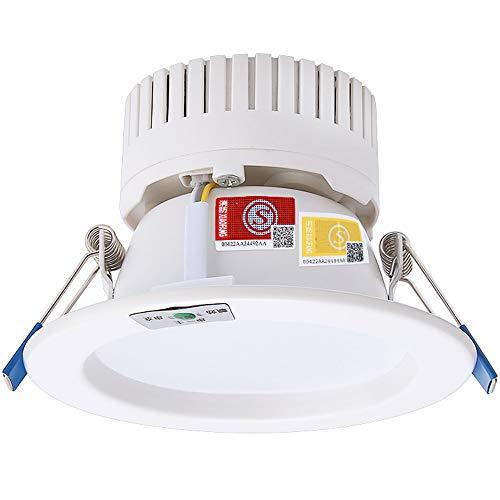 GLBS 6W/9W/10W/12W Handelsfeuer Not-LED Eingebettetes Downlight Multifunktionshaushaltsintegrations-Verbrennungs-Material Küchen-Deckenverkleidungs-Licht Vertiefte Stromausfall-Verkleidungs-Licht -