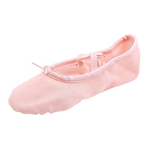 BURFLY Kleinkind mädchen leinwand Ballettschuhe Tanzschuhe Toe Dance Schuhe Fitness Gymnastik Schuhe grundmodelle
