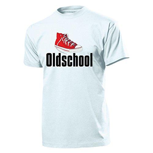 Oldschool Old Shoe Schuh Turnschuh Sneaker Chucks 80er 90er - T Shirt Herren M #10631