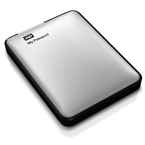 Western Digital MyPassport Ultra 500 GB Externe Festplatte (6,4 cm (2,5 Zoll), USB 3.0) silber