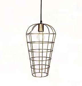 Suspension cage en métal Aaron (D.22xH.37cm)