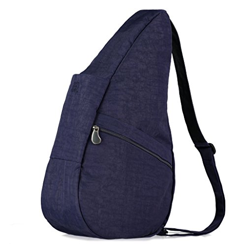 Unisex-Erwachsene Rucksack, Textured Nylon S (7L), Gr. 23x43x15 cm (B x H x T), Schwarz (Black BK) Healthy Back Bag
