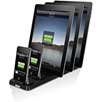 Xtrememac InCharge X5 Station de charge avec 5 ports iPhone/iPad Noir