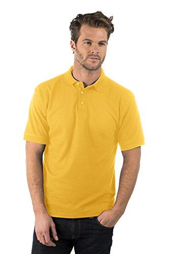 Bruntwood Klassisches Polo Hemd - Classic Polo Shirt - Herren & Damen - 180GSM - Polyester/Baumwolle Sonnenblumen Gelb
