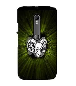 Aries Sign 3D Hard Polycarbonate Designer Back Case Cover for Motorola Moto G3 :: Motorola Moto G (3rd Gen) :: Motorola Moto G (Gen 3) :: Motorola Moto G Dual SIM (3rd Gen) :: Motorola Moto G3 Dual SIM