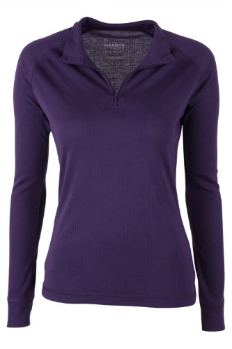 mountain-warehouse-talus-womens-long-sleeve-zip-neck-tee-shirt-baselayer-round-neck-t-shirt-base-lay