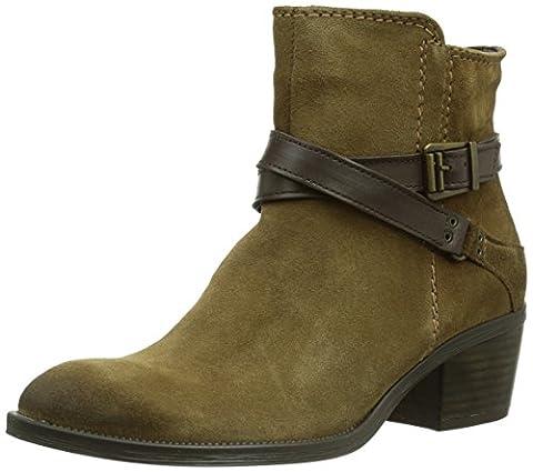Tamaris 25010, Damen Biker Boots, Braun (Mud/Espresso 378), 40 EU (6.5 Damen UK)