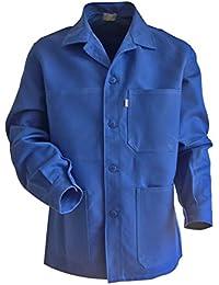 LMA 200241 PLANTOIR Veste fermeture à boutons col chevalier, Bleu Bugatti, 2