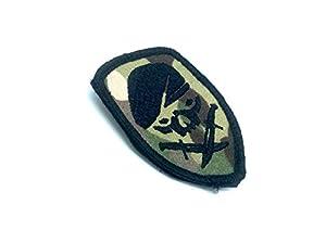 SAS Poignard Crâne Multicam Airsoft Paintball Velcro Patch