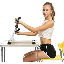 begorey Salud ajustable interior pierna deportista fitness mini brazo de pedal ambulante bicicleta