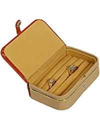 Kuber Industries™ Ring Organiser With Rexine Coated (Hard Board Material)