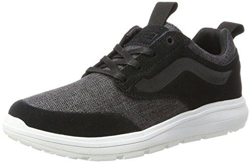 Vans iso 3, sneaker unisex-adulto, nero (t/yellow), 43 eu