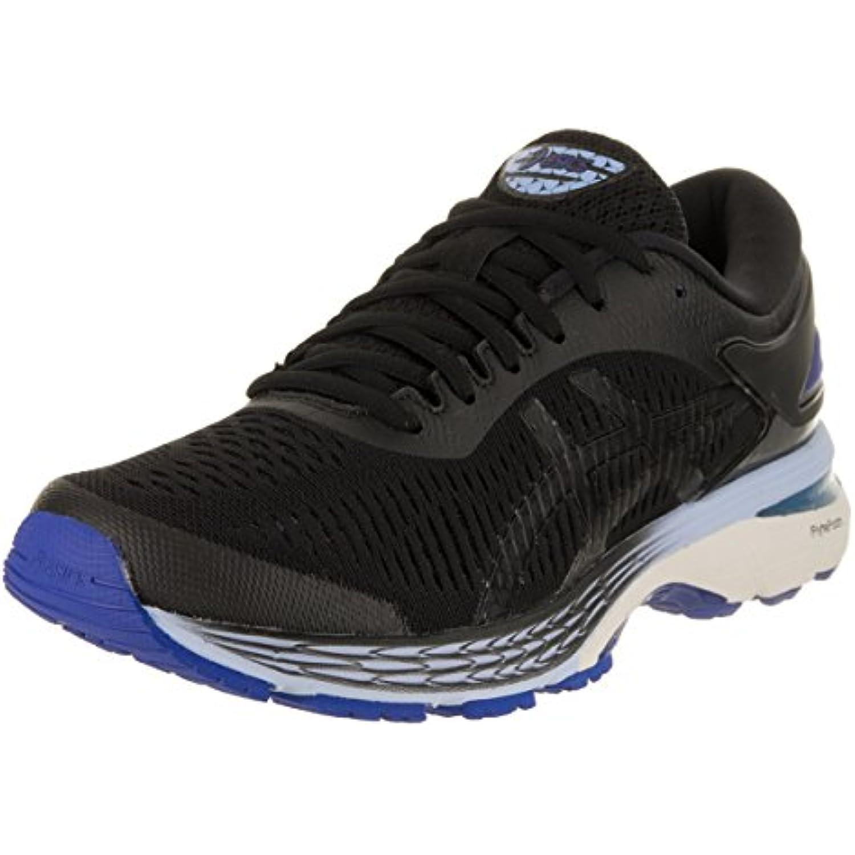 Asics Gel-Kayano 25 Chaussures de Course pour pour pour Femme - Noir - Black/Asics Blue, 42 B(M) EU - B077MKSCRP - 6b2710