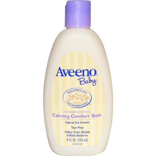 Aveeno Baby Calming Comfort Bath, Lavender & Vanilla, 8 Oz.