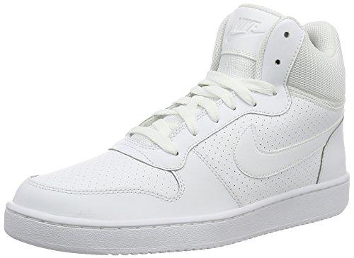 Nike COURT BOROUGH MID - Scarpe da ginnastica Uomo, Bianco, 40