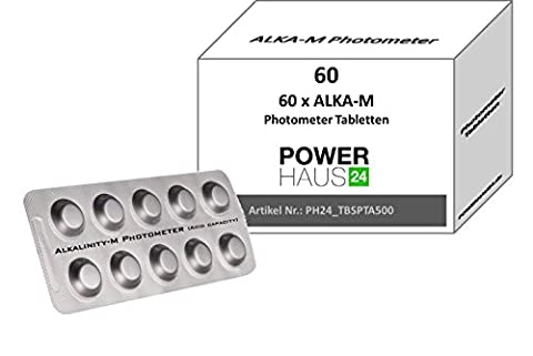 Alka Power HAUS24–60Photometer Testing Tablets Pack Of