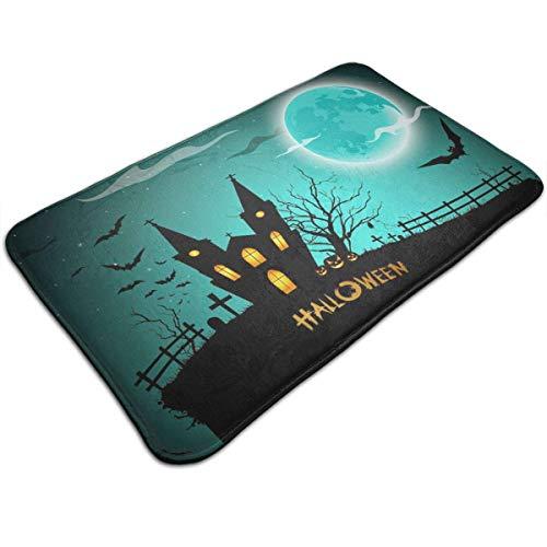 Voxpkrs Personalized Door Mats-Halloween Trick Or Treat Pumpkin Indoor Door Mat,31.5 X 19.5 Inches
