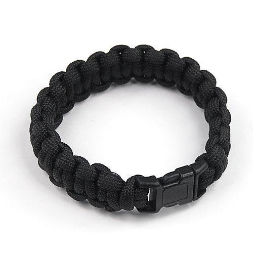accessotech-schwarz-camping-wandern-notfall-paracord-550-survival-armband-schnur-armband-sas