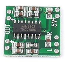 sourcingmap® 2Channels 3W Digitale Alimentazione PAM8403 Classe D Amplificatore Audio Scheda DC 5V