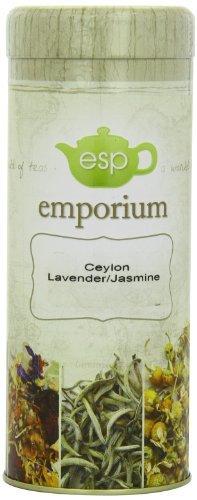 ESP Emporium Black Tea Blend, Ceylon Lavender/Jasmine, 3.53 Ounce