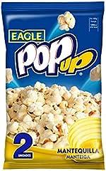 Eagle Palomitas de maíz con mantequilla para microondas POP UP paquete de 2 uds
