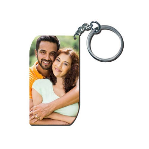 exciting lives white personalised photo keychain Exciting Lives White Personalised Photo Keychain 41bgPoupluL