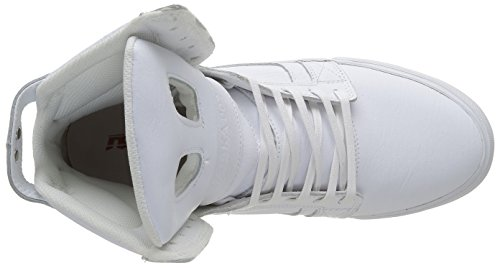 Supra Skytop Ii, Baskets Basses Homme, White Weiß (WHITE / WHITE - RED 149)