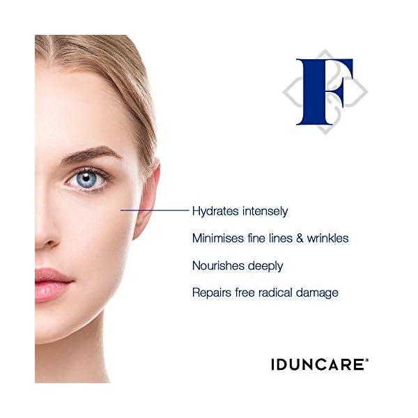 Iduncare Crema Facial Reafirmante – Crema de Cara Antiedad con Vitamina C & Ácido Hialurónico – Mejor Crema Hidratante…