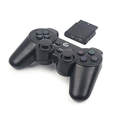 Gembird JPD-WDV-01 Kabelloses Gamepad mit Vibration, PS2/PS3/PC