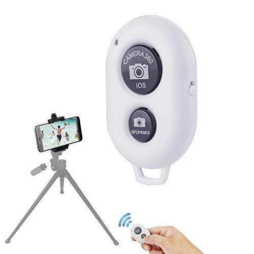 LAKWAR Bluetooth Verschluss, kabellose Fernbedienung für IOS/Android Smartphones. Machen Sie Gruppenaufnahmen, Selfies und Videos aus der Ferne mit der kabellosen Fernbedienung