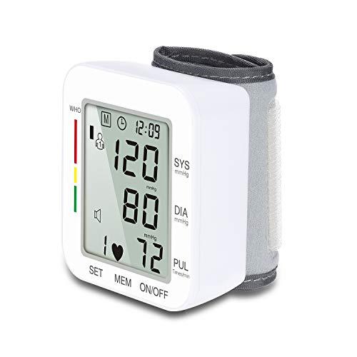ZUZU Druck Monitor Upper Arm-Fully Automatic Blood Pressure Machine Large Cuff Kit-Digital BP Monitor for Adult, Pregnancy-Blutdruck-Kit für Zuhause,White -