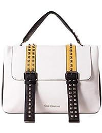 Gio Cellini borsa donna cartella bianca ecopelle liscia mod BB001 CARTELLA  BELTS 8b7d738f95a