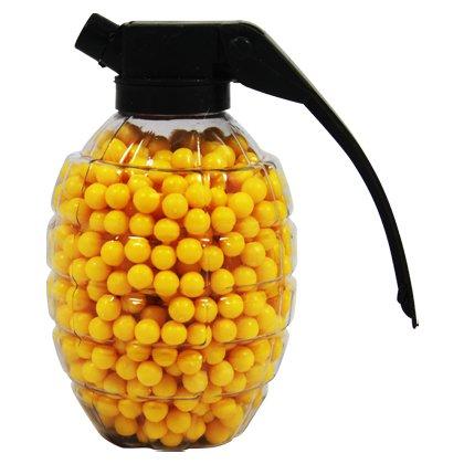 5 x Munition 800 Kugeln Softair 6 mm gelb Granate zu HC-Handel®