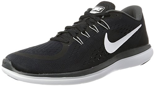 Nike Men's Nike Free Rn Sense Running Shoe, Chaussures de Fitness Homme Multicolore (Black/white/anthracite/cool Grey)