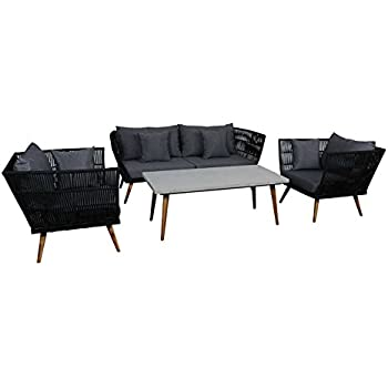 outliv loungem bel outdoor santorin sofagruppe. Black Bedroom Furniture Sets. Home Design Ideas