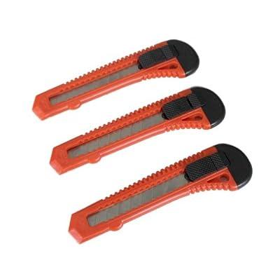 18mm Cuttermesser Teppichmesser Abbrechmesser Allzweckmesser Paketmesser mit Abbrechklingen