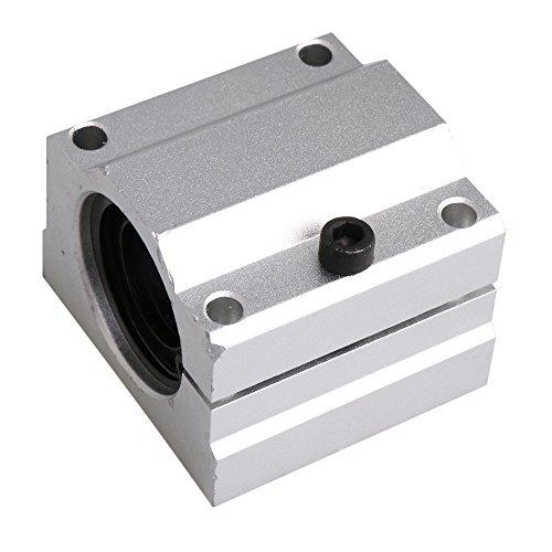 BQLZR 16 mm in alluminio SC16AJ regolabile cuscinetto lineare cuscinetto a sfere blocco lineare movimento macchine scorrevole boccola per CNC router