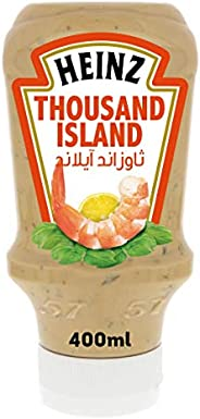 Heinz Thousand Island Dressing, Top Down Sqeezy Bottle, 400ml