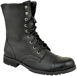 Amazon.co.uk: Combat Boots - Boots / Women&39s Shoes: Shoes &amp Bags