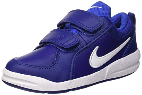 Nike Pico 4 (PSV), Scarpe da Tennis Bambino, Blu (Deep Blue/White/Game Royal 409), 33 EU