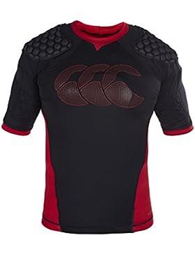 Canterbury E211051989 Camiseta Protectora Rugby, Unisex niños, Negro, MB