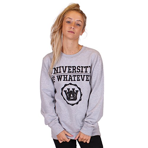 UOW - Sweat-shirt - Femme Basics Grey