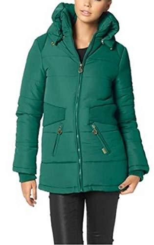 Mantel Steppmantel Damen von Buffalo - Grün Gr. 36 -