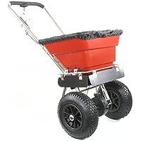 Greenstar 35302 - Diapositiva streuwagen- de acero inoxidable de 36 kg de capacidad, tamaño de los neumáticos: 12 pulg