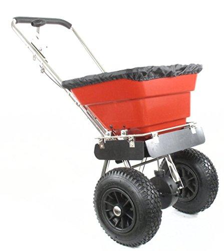"""Greenstar 1732 Epandeur pousse en Inox 36 kg de capacité maximale avec pneus 12"""""""