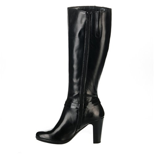 Bottes femme - CYPRES - Noir - 9411905 - Millim Noir