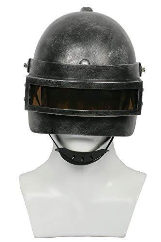 Halloween PUBG Helm Survival Resin Vollkopfmaske Spiel Cosplay Zubehör für Erwachsene Kostüm Waren (B ()