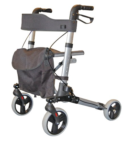 Roma City Walker - Andador plegable 4 ruedas caminar