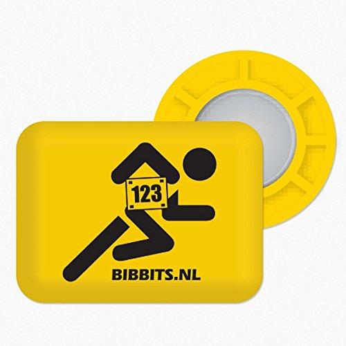 BibBits - Magnetische Startnummernhalter - in 7 Farben verfügbar