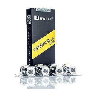 Authentische Uwell Crown 3 Coils [packung von 4] – 0.4 ohm Enthält Kein Nikotin